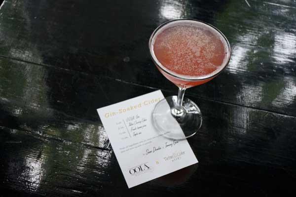 Tommy Gun Cocktails WA Cider Week
