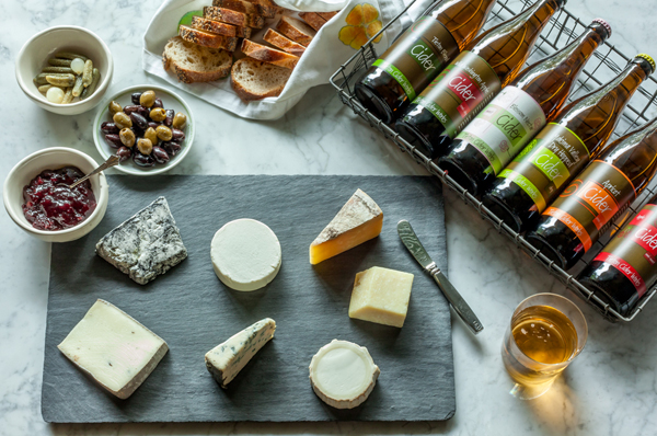Tieton Cider Works Cheese Pairings