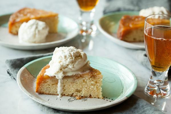 Cider food pairings apple cake
