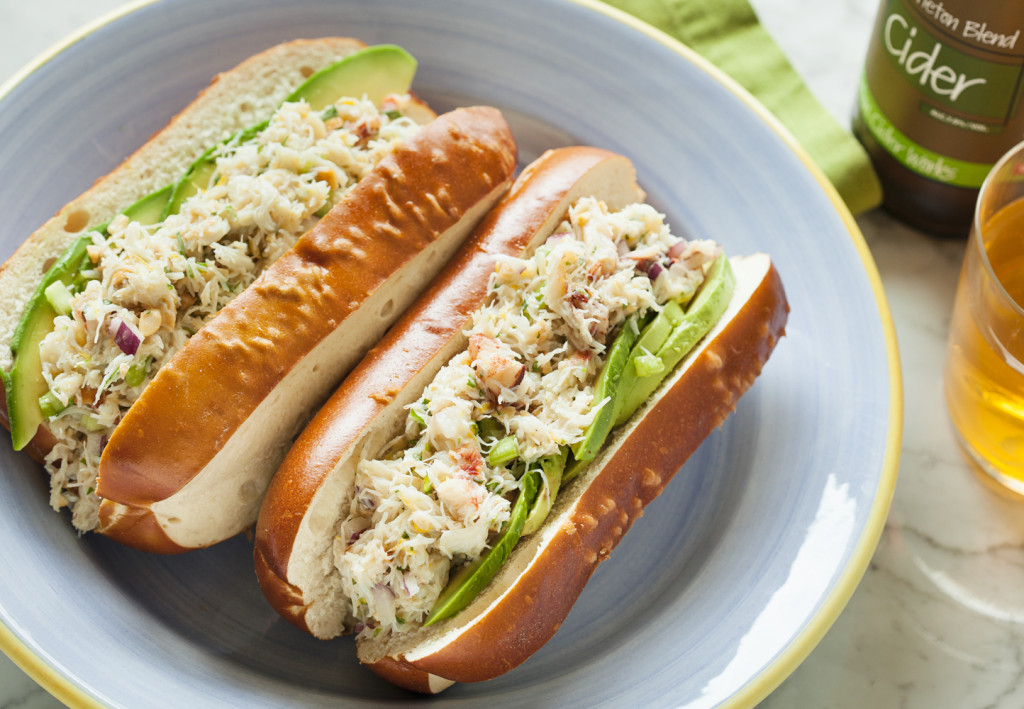 Cider food pairings crab