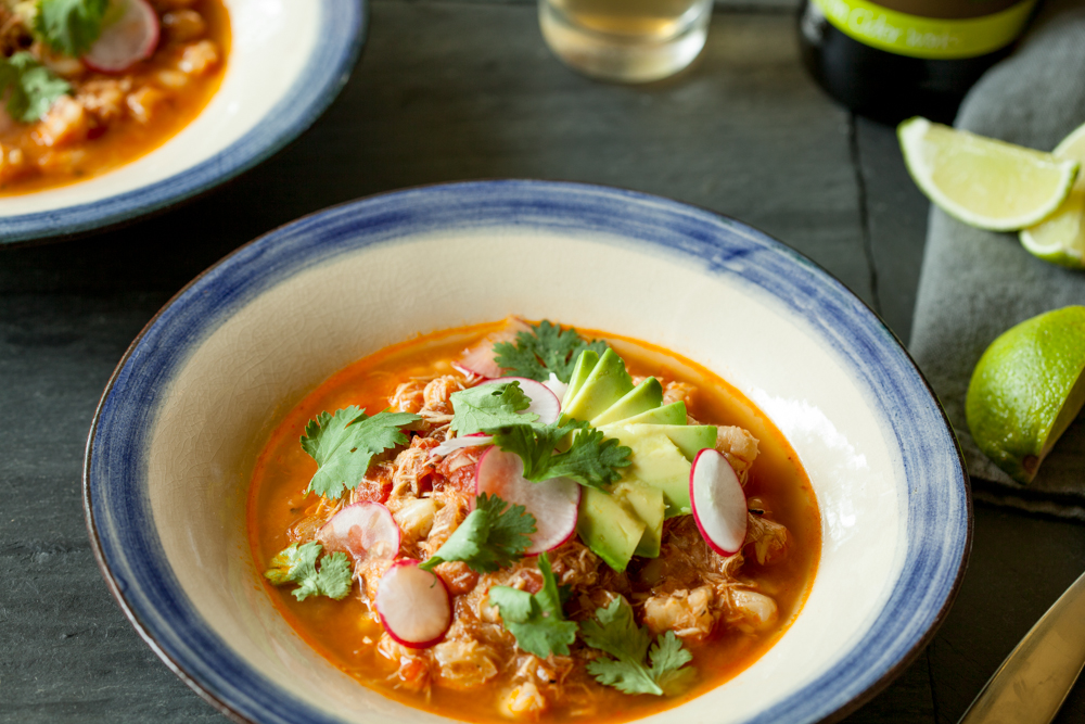 Red Posole with Chicken